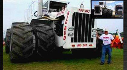 Este é o maior (e mais brutal) Trator Agrícola do mundo! Conheça este monstro exclusivo em vídeo!