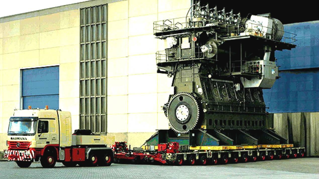 Maior motor Diesel