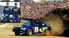 Disputa insana (e lado a lado) de Subaru nos tempos de ouro do Rally: Carlos Sainz x Colin McRae!