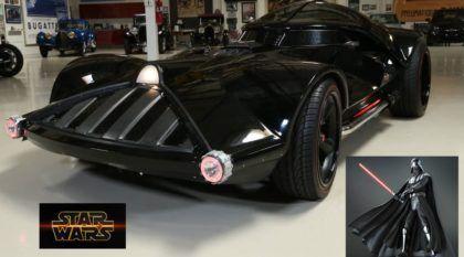 """O lado negro da Força: Conheça o """"carro esportivo V8"""" do Darth Vader!"""