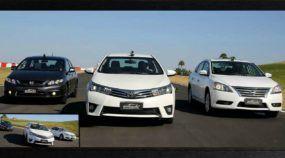 Desafio dos Sedans na Volta Rápida: Civic X Corolla X Sentra (Atenção porque houve uma grande surpresa)!