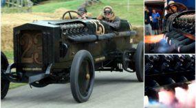 Brutal, este é o BMW Brutus com um (insano) motor de 12 cilindros e 46 litros! Sinta o ronco e as chamas!