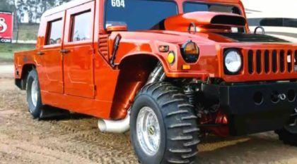 3.000 cv de pura brutalidade: Veja só o motor e aceleração extrema deste (surpreendente) Hummer H1
