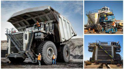 É assim que nasce um monstruoso Caminhão de 600 toneladas (Vídeo mostra esse Liebherr é construído)