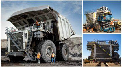 É assim que nasce um (Monstruoso) Caminhão de 600 toneladas! Vídeo mostra como novo Liebherr é construído no local do trabalho!