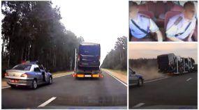 De perder o fôlego! Vídeo revela Perseguição (insana e perigosa) contra Carreta dirigida por motorista bêbado!
