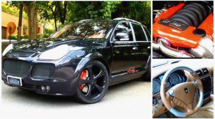 Única no Brasil e com 750 cv, conheça (em detalhes) a incrível Porsche Cayenne Gemballa GT750!