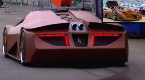 Não é brincadeira: SuperCarro feito de Madeira é revelado (escondendo um motor V8 de 608cv)!