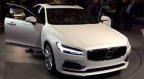 Este é o futuro dos carros da Volvo: vídeos mostram (em detalhes) o novo sedan S90!