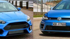 Ford Focus RS X VW Golf R: briga (nervosa e rápida) dos hatches AWD que fazem falta no Brasil