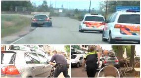 Parece GTA, mas é real! Ladrão em Golf desafia policiais e causa destruição na Holanda