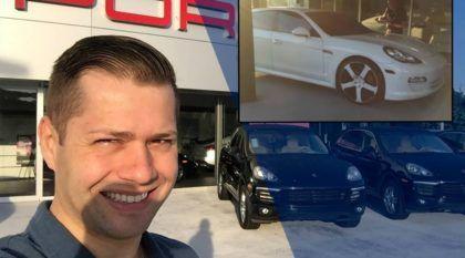 Brasileiro, que tinha um Kadett, agora anda de Porsche Panamera nos Estados Unidos (Vídeo conta sua história)!