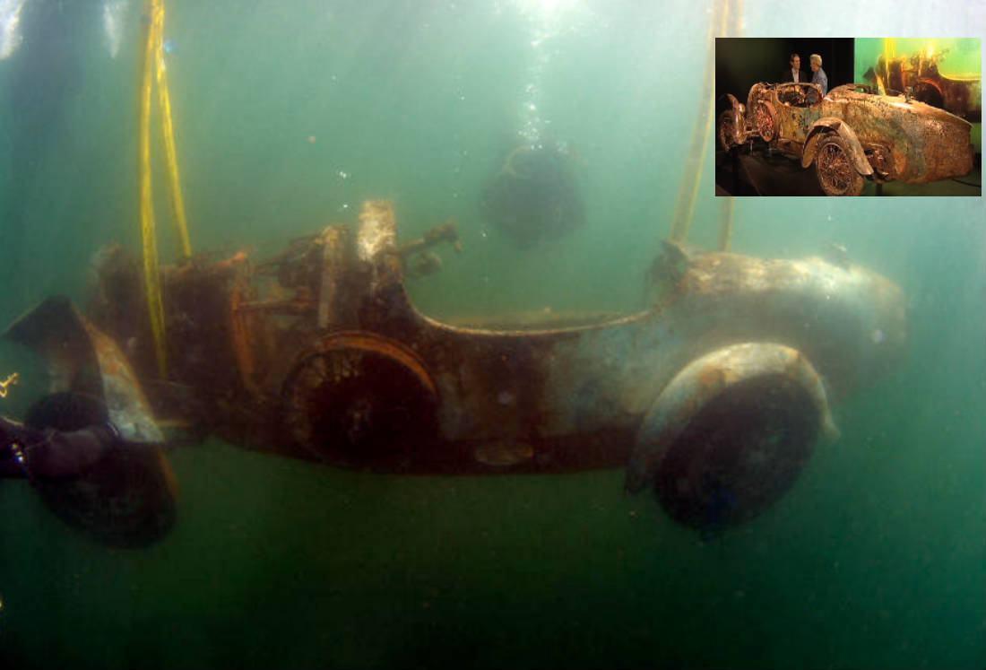 Bugatti no Lago