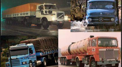 TOP 10: Caminhões mais marcantes na história do Brasil (Vídeo só com as Lendas das Estradas)
