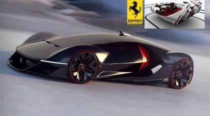 """Ferrari revela os seus surpreendentes """"Modelos do Futuro""""! O que você acha do design?"""