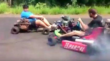 Kart com Motor CHT Turbo da Ford? Eu não imaginava ver uma coisa dessas!