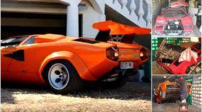 Seu coração vai disparar com esse ronco de V12! Veja como esse Cara restaurou (na raça) uma Lamborghini Coutach!