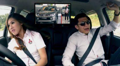 """Esses caras foram comprar a nova Mitsubishi Triton, mas não sabiam o Susto que levariam com a """"Vendedora""""!"""