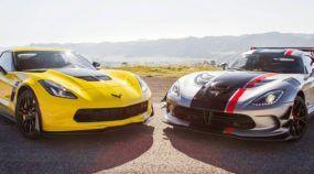 Chevrolet Corvette Z06 ou Dodge Viper ACR: qual é o melhor supercarro americano?