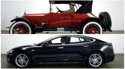 Top! 100 anos de mudanças e evolução nos carros em vídeo de 3 minutos