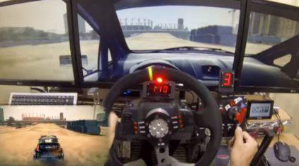 Pilotagem insana em jogo para PC: olha o equipamento do cara e como ele anda
