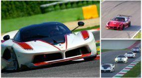 Overdose (sinfonia) Ferrari V12: FXX Evoluzione, FXX K, 599XX Evo e 599X duelam na pista!