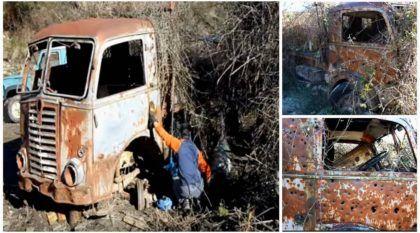 Zumbi? Você apostaria na ressurreição deste velho (e abandonado) caminhão Fiat?