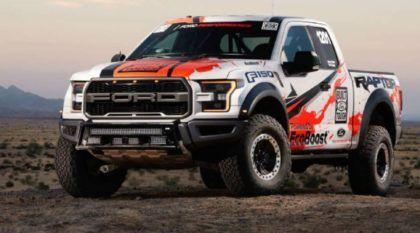 Ainda mais brutal! Ford prepara versão (de corrida) da F-150 Raptor para provas Off-Road!
