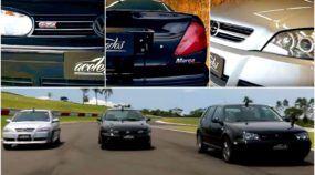 A Disputa Histórica: O mítico Fiat Marea Turbo contra o VW Golf GTI e Astra GSI!