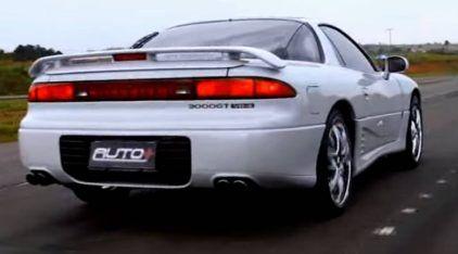 Um mito esquecido? Vídeos mostram por que o Mitsubishi 3000GT estava (bem) à frente do seu tempo!