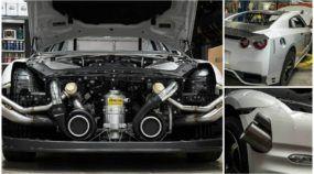 Está nascendo o Nissan GT-R mais potente (e mais rápido) do mundo, com incríveis 2.500cv! Veja primeiras imagens!