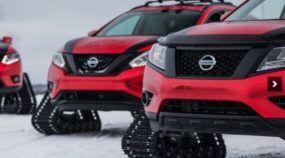 SUV sem rodas? Essa é a (ousada) proposta da Nissan para enfrentar a Neve com brutalidade!