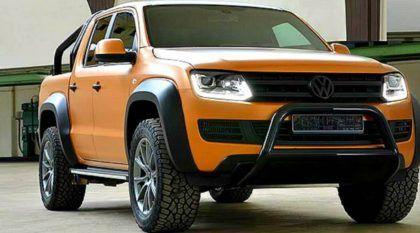 VW Amarok querendo ser Raptor? Essa picape ganhou motor V8 e preparação off-road. Mas é suficiente?