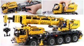 LEGO Carga Pesada: este caminhão guindaste (elétrico) de 2.600 peças é demais!