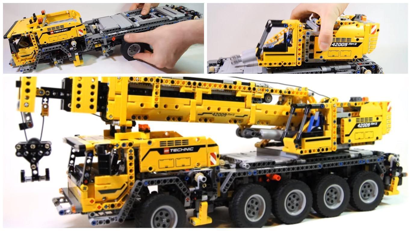 Lego Carga Pesada Este Caminh 227 O Guindaste El 233 Trico De 2