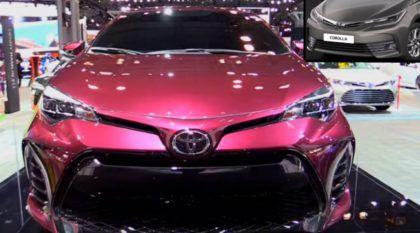 Primeiros vídeos divulgados! Para brigar com Novo Civic, o Toyota Corolla está de cara nova na Europa e EUA!