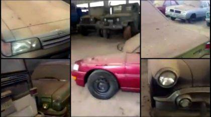 Inacreditável! Tesouro escondido em Galpão no Brasil: Vídeo mostra Carros e Caminhões antigos abandonados!