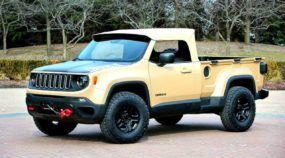 Jeep Renegade virando uma Picape (conversível) a Diesel? Veja primeiras imagens do Comanche!