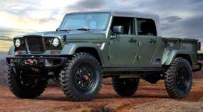 Confirmada a novidade: Picape do Jeep Wrangler vai ser mesmo lançada!