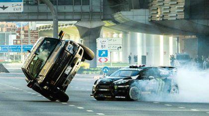 Brutal e Espetacular! Em novo vídeo, Ken Block faz manobras ainda mais insanas (agora em Dubai)!