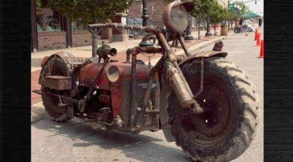 Raridade única no Mundo: Vídeo revela a insana MOTO-TRATOR