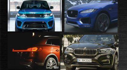 TOP 10: Os melhores e mais incríveis SUVs em 2016! É uma lista de perder o fôlego!