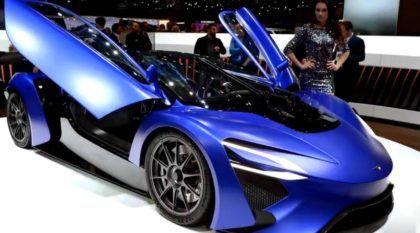 Ele tem turbina de avião, seis motores, 1.044cv e uma autonomia gigantesca! Conheça o primeiro SuperCarro chinês!