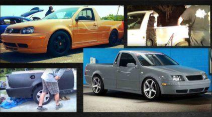VW Golf e Bora transformados em Picapes? Veja em 5 minutos como isso é possível!