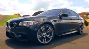 Show! O tão pedido BMW M5 é finalmente testado por Rubens Barrichello na volta rápida