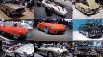 Homenagem aos clássicos: Salão de Genebra 2016 mostrou 10 carros antigos incríveis!