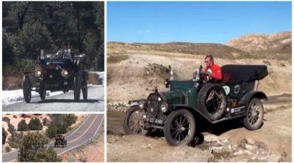 Feito épico: este casal encarou uma volta ao mundo em um Ford T (1915)