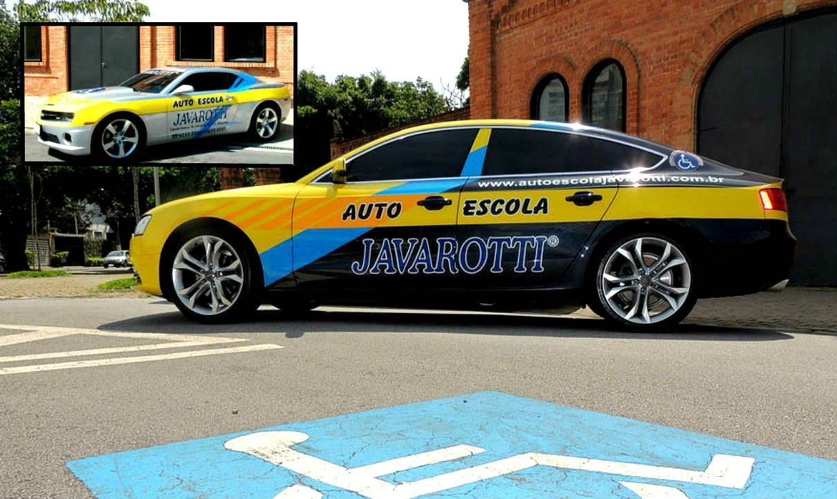 Autoescola - Audi e Camaro