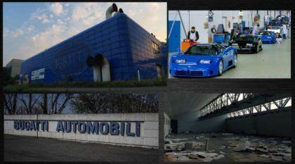 Vídeo revela a incrível (e impressionante) história da Fábrica abandonada da Bugatti!
