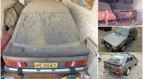 O inacreditável Ford Escort XR3 1984 encontrado (em estado de 0km) depois de mais de 30 anos!